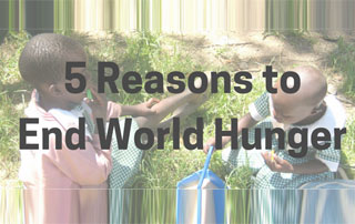 supports the fight against hunger