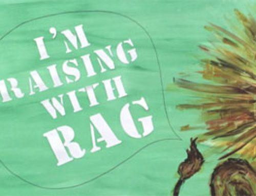 We're one of Reading RAG's chosen charities!
