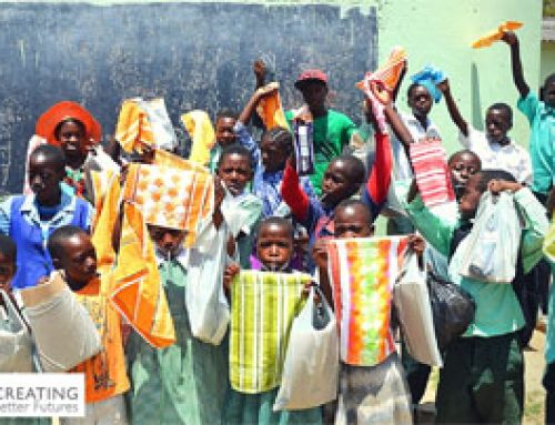 Christmas presents to disadvantaged children in Zimbabwe