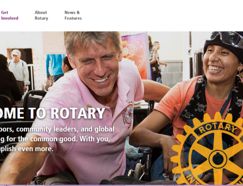 Working with Rotary International