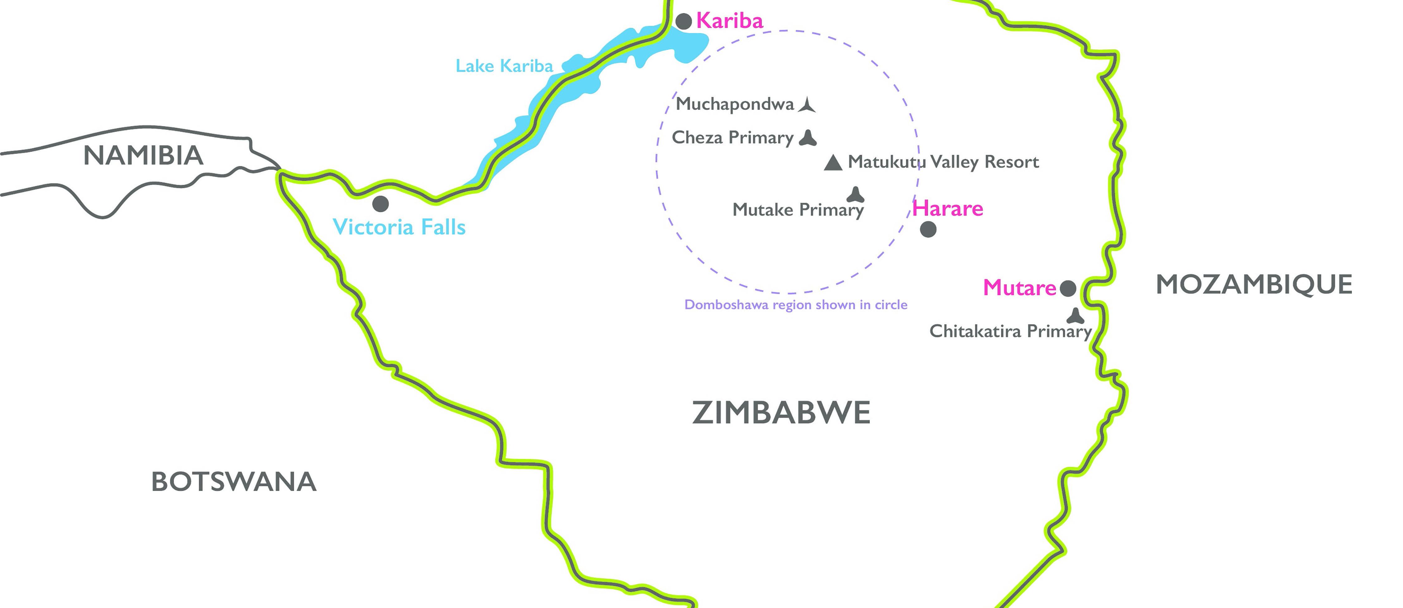 the relationship between shona and ndebele